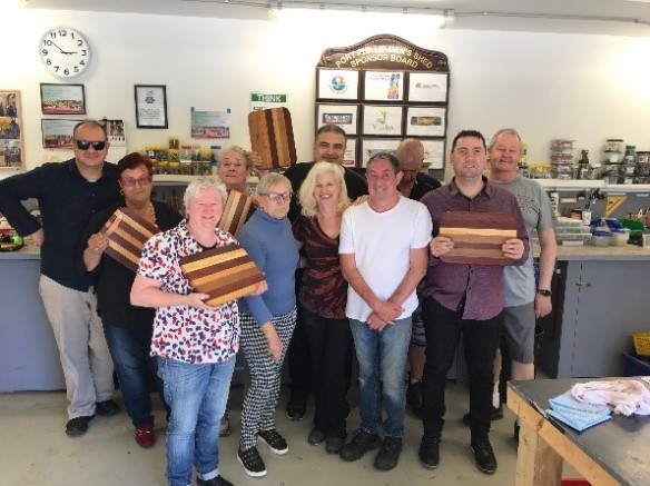 Mixed group in five week course 2018